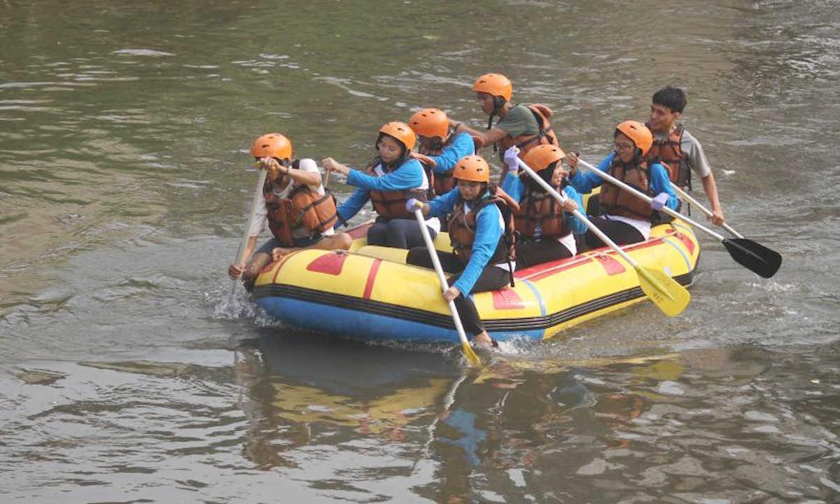 pantau sungai ciliwung